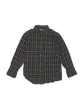 Rugged Bear Long Sleeve Button-Down Shirt Size 7