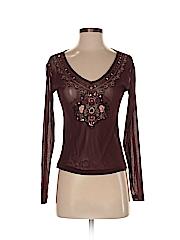 New York & Company Women Long Sleeve Top Size XS