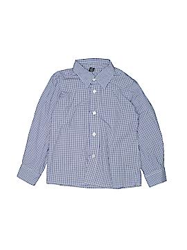 Class Club Long Sleeve Button-Down Shirt Size 6