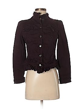 INC International Concepts Denim Jacket Size P