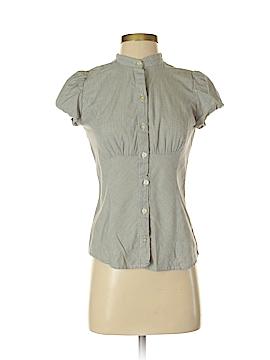 CALVIN KLEIN JEANS Short Sleeve Button-Down Shirt Size XS