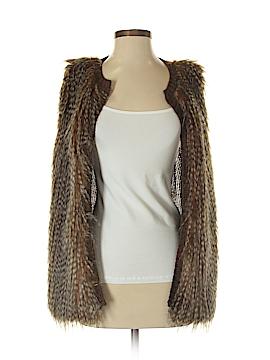 Love on a Hanger Faux Fur Vest Size M