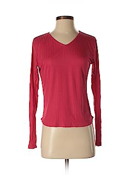 REI Long Sleeve Silk Top Size M