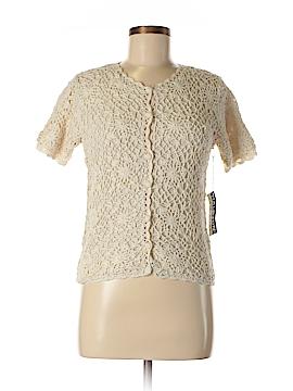 Halston Short Sleeve Silk Top Size S