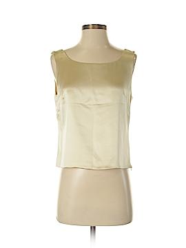 Lafayette 148 New York Sleeveless Silk Top Size 6