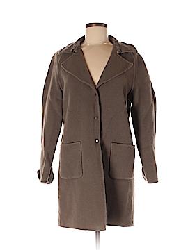 Elie Tahari Women Wool Coat Size M