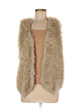 I.N. Studio Faux Fur Vest Size M