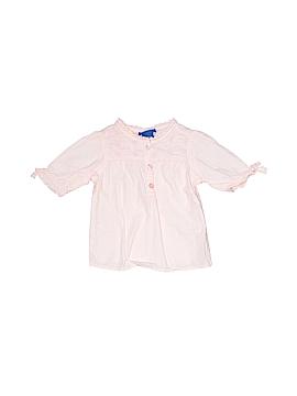Genuine Kids from Oshkosh 3/4 Sleeve Button-Down Shirt Size 18 mo