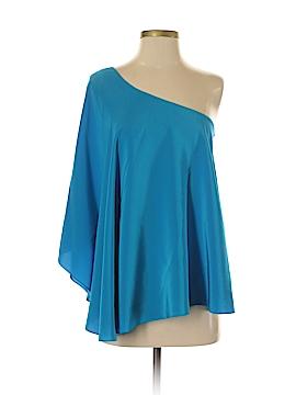 Jay Godfrey 3/4 Sleeve Silk Top Size 2
