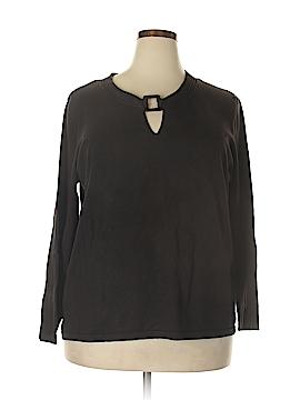 Josephine Chaus Silk Pullover Sweater Size 2X (Plus)