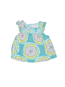 Genuine Baby From Osh Kosh Short Sleeve Blouse Size 3 mo