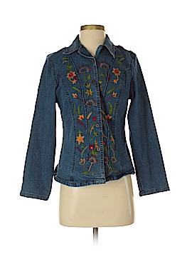 April Cornell Denim Jacket Size XS