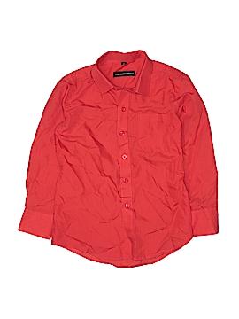 Kids World of USA Long Sleeve Button-Down Shirt Size 8