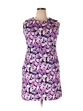 Lands' End Casual Dress Size 14 (Petite)