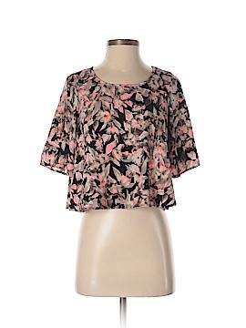 B Jewel Short Sleeve Blouse Size XS