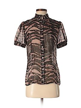 Jenny Han Short Sleeve Silk Top Size S