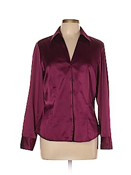 Ann Taylor Factory Long Sleeve Blouse Size 14 (Petite)