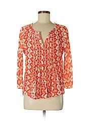 Vanessa Virginia Women 3/4 Sleeve Blouse Size 6