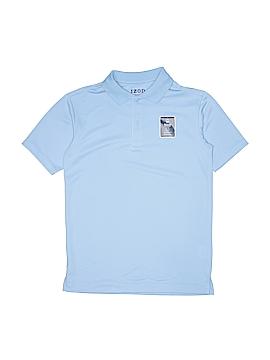 IZOD Short Sleeve Polo Size 10