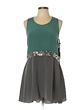 Vera Wang Sleeveless Silk Top Size 10
