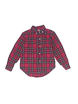 Funtasia! Too... Long Sleeve Button-Down Shirt Size 6