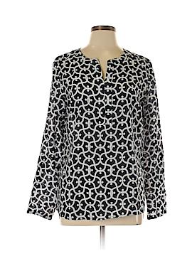Van Heusen Long Sleeve Blouse Size L