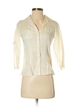 Max Studio 3/4 Sleeve Button-Down Shirt Size XS