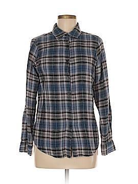 Hanna G. Long Sleeve Button-Down Shirt Size M