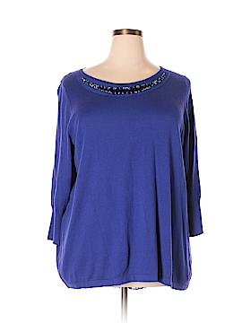 Worthington Pullover Sweater Size 1X (Plus)
