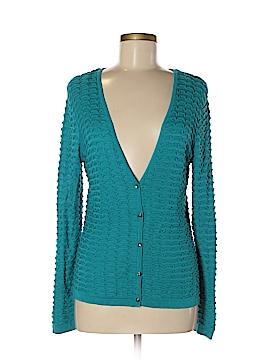 Nancy Bolen City Girl Silk Cardigan Size S