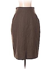 Salvatore Ferragamo Women Wool Skirt Size 44 (EU)