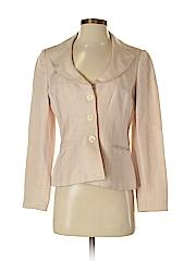 Ann Taylor LOFT Women Silk Blazer Size 4 (Petite)