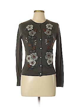 Garnet Hill Silk Cardigan Size XS