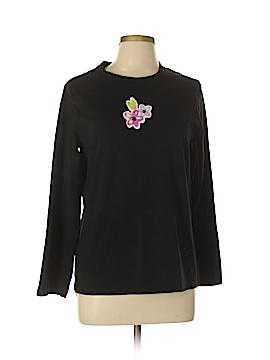 June & Daisy Long Sleeve T-Shirt Size L