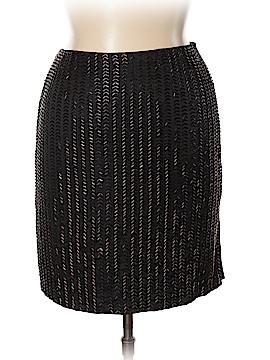 Dana Buchman Silk Skirt Size 14 (Petite)