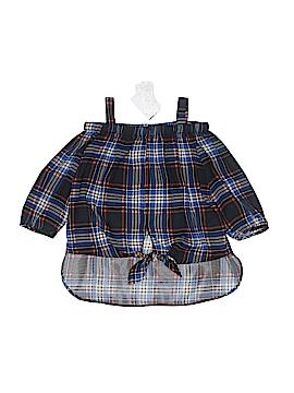 Soprano Long Sleeve Blouse Size S (Kids)