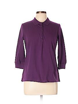 Laura Scott 3/4 Sleeve Polo Size M