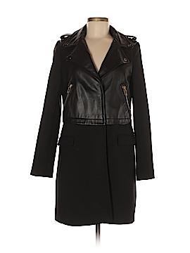 Zara Basic Leather Jacket Size M