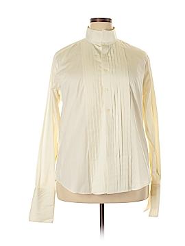 Pronto Long Sleeve Button-Down Shirt Size 16