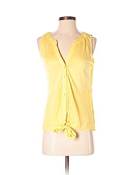 INC International Concepts Sleeveless Button-Down Shirt Size S
