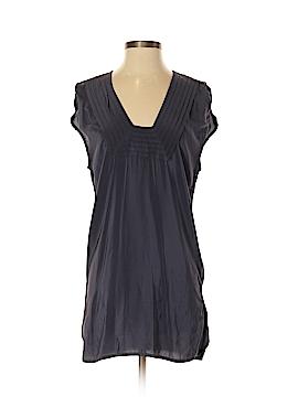 Geren Ford Short Sleeve Silk Top Size M