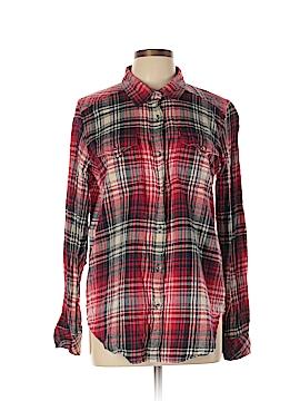 Kavu Long Sleeve Button-Down Shirt Size L