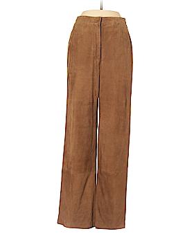 Max Mara Leather Pants Size 2