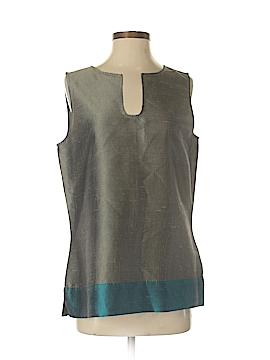 Dana Buchman Sleeveless Silk Top Size M