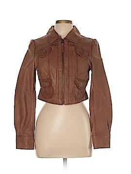 Miss Selfridge Leather Jacket Size 12