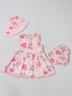 Strawberry Fair Girls Dress Size 12 mo
