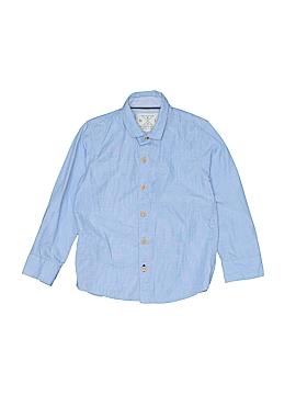 Next Long Sleeve Button-Down Shirt Size 3