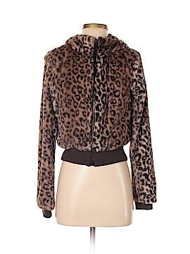 Divided by H&M Faux Fur Jacket Size 36 (EU)