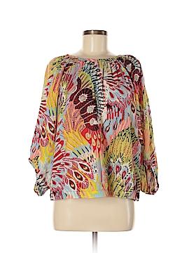 Life Style 3/4 Sleeve Blouse Size M