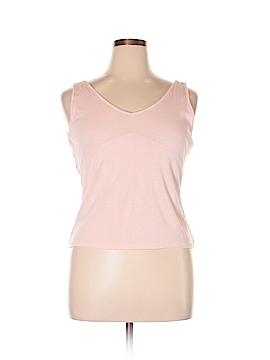 Ann Taylor Sleeveless Silk Top Size L